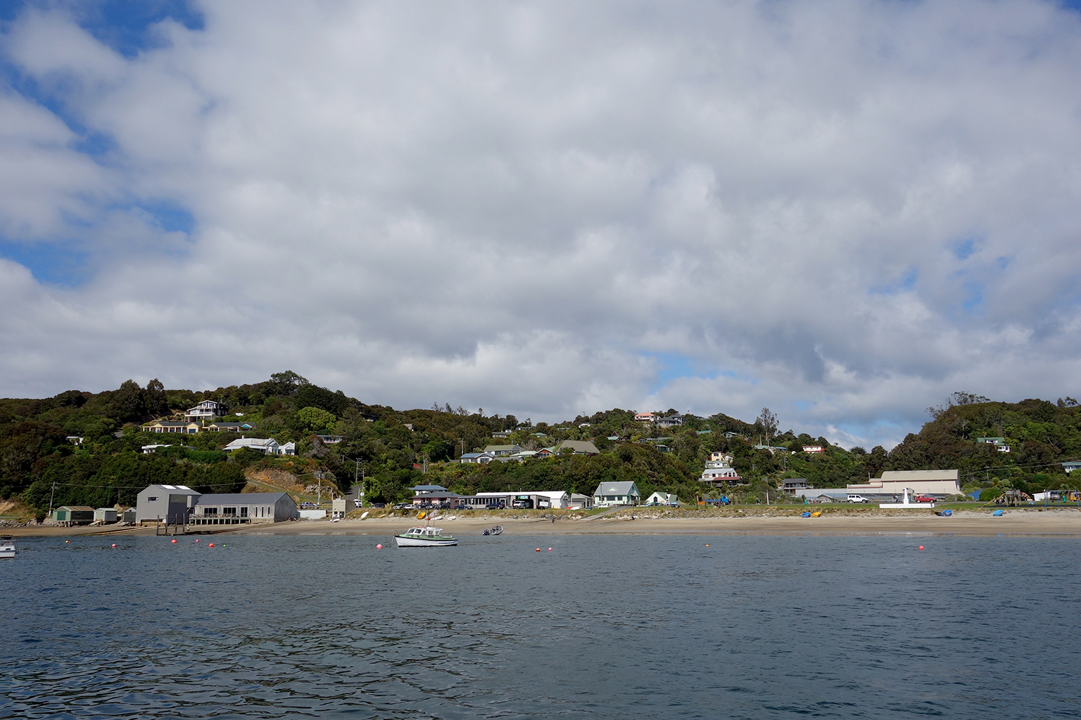 Clouds over Oban, NZ