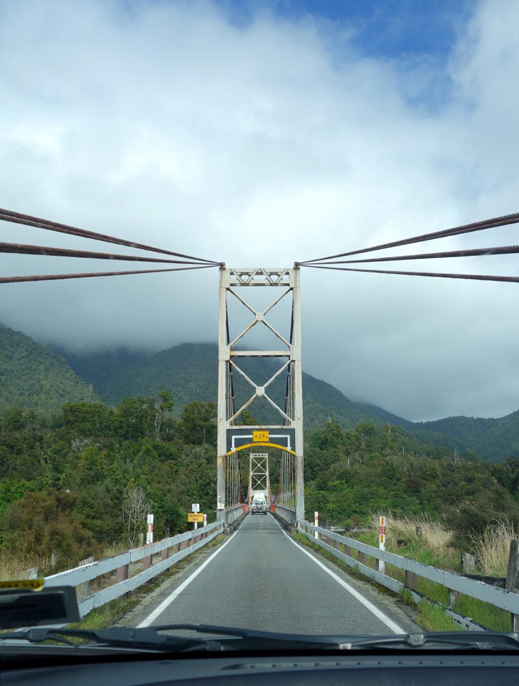 One land bridges in New Zealand