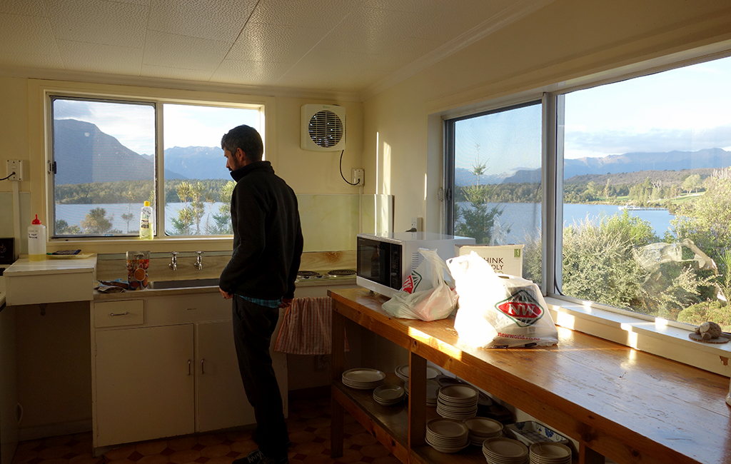 Te Anau Lodging, New Zealand
