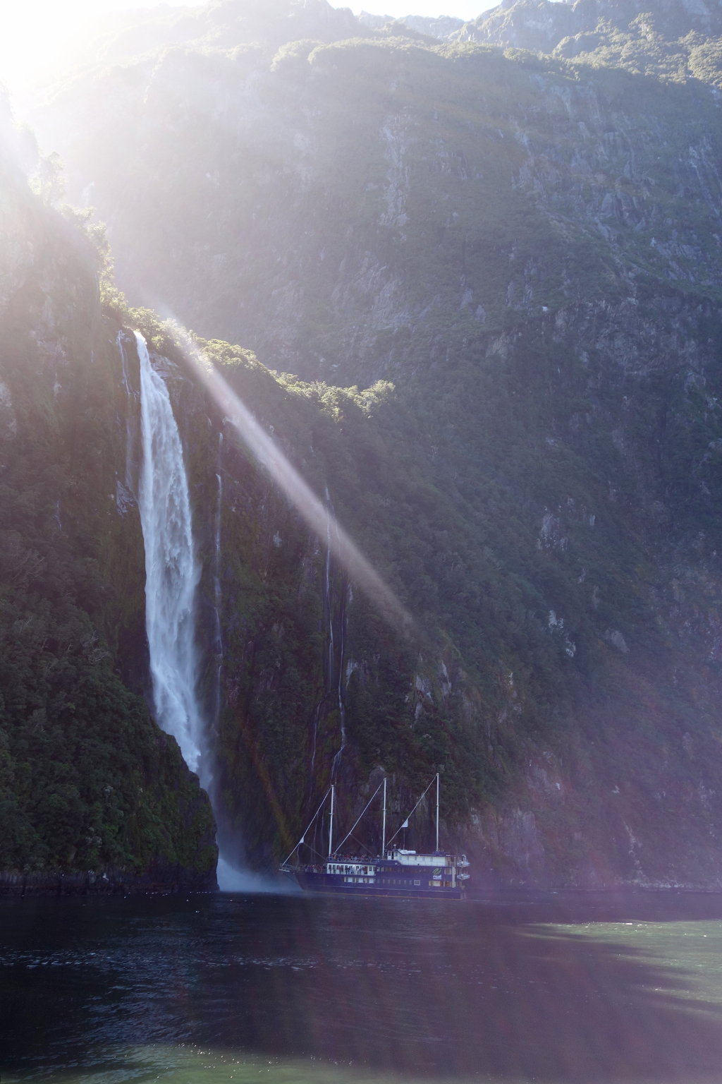 Overnight cruise in Milford Sound
