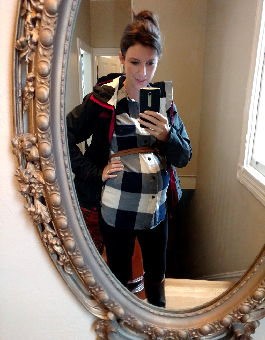 Maternity volunteering outfit