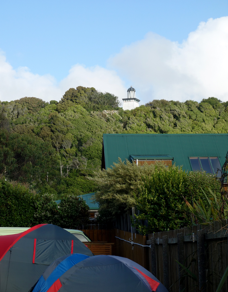 Camping in Hokitika, New Zealand