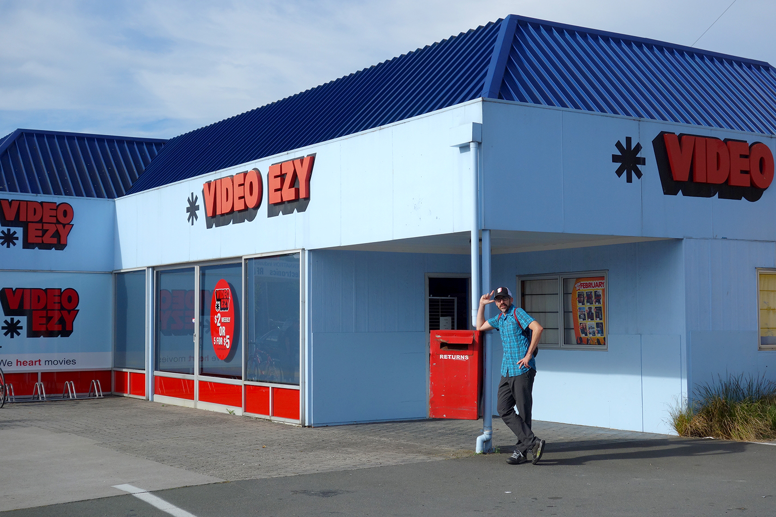 Video stores in New Zealand