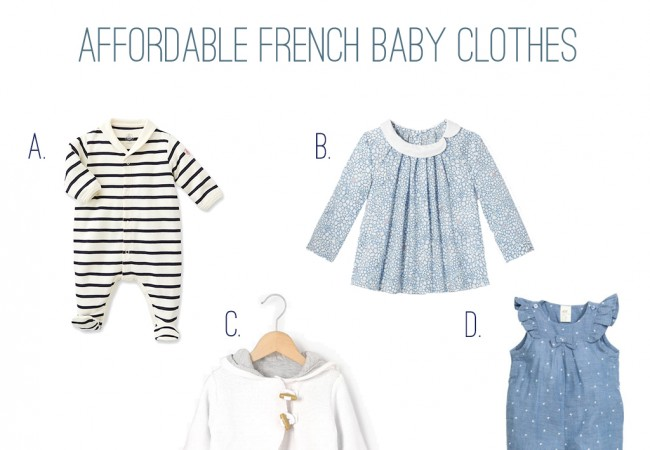 Buying French Baby Clothes in America
