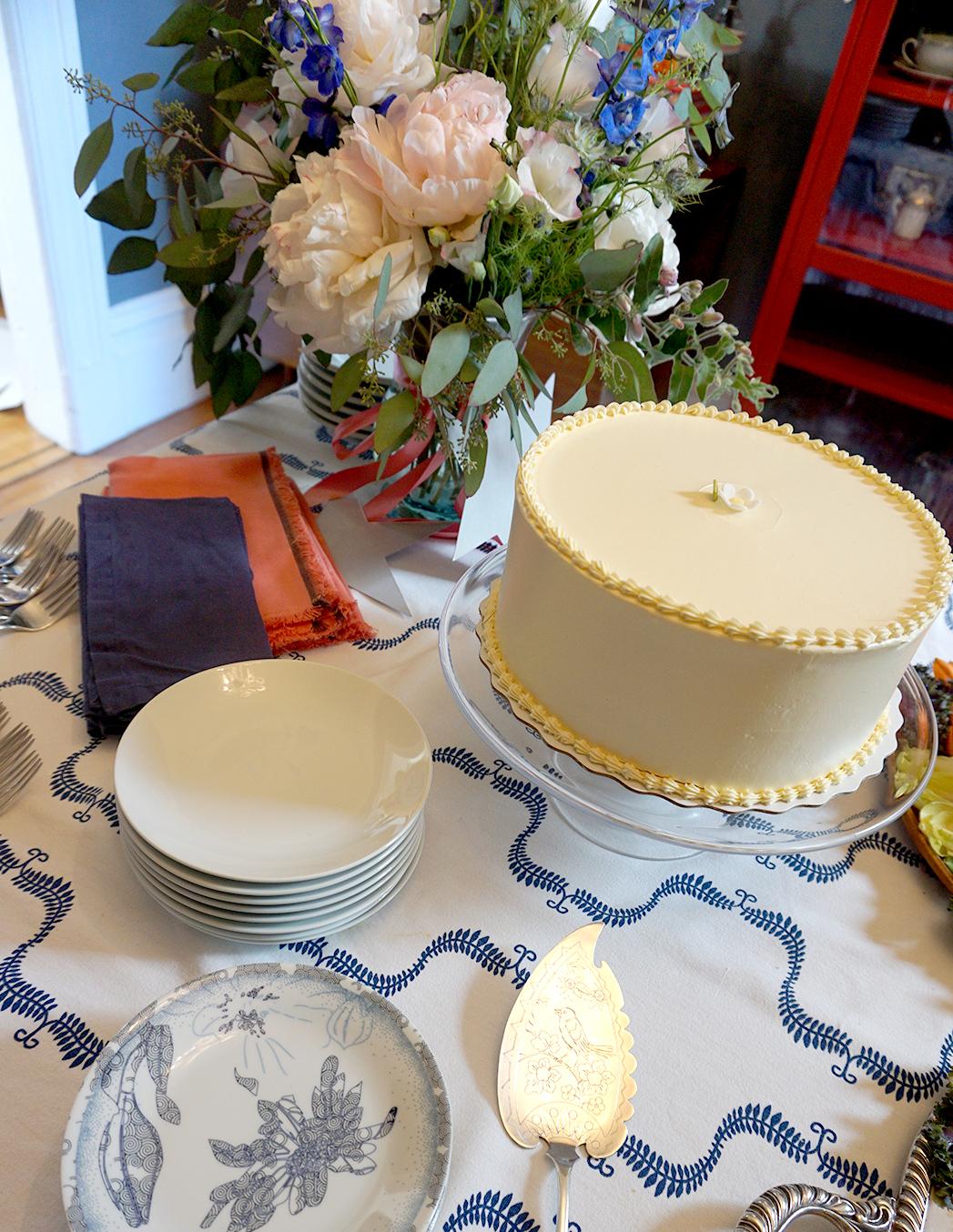 Miette lemon cake