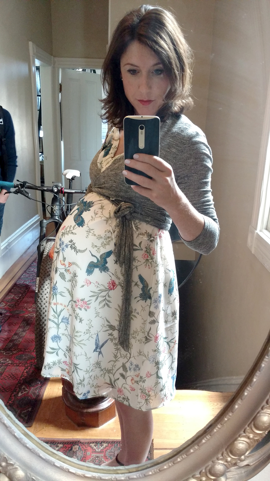 Maternity outfit 9 months pregnant