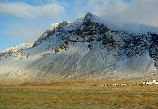 A Gorgeous Winter Drive to West Iceland with a Baby