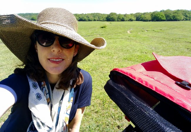 Exploring the New Forest by Bike and Train with Baby
