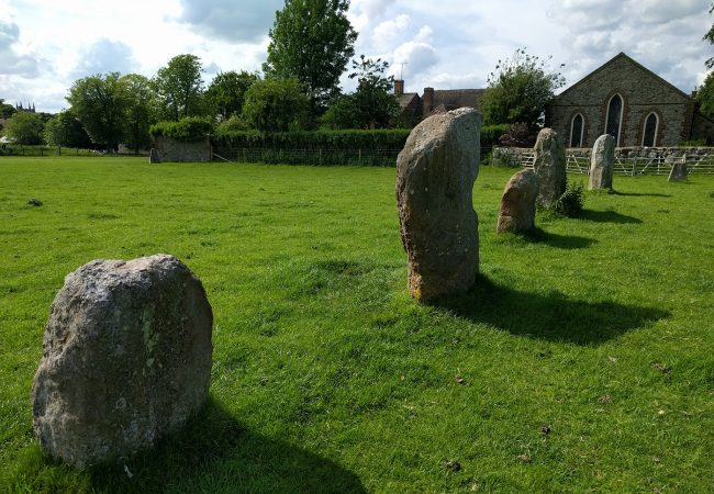 A Quick Stop at Averbury Stones for 6,000 Years of History